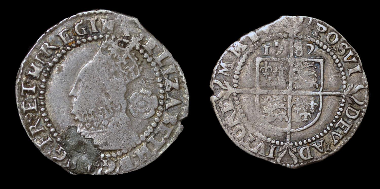 ELIZABETH I, THREEPENCE DATED 1583