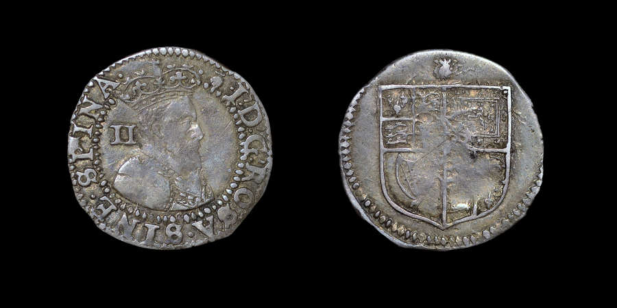 JAMES I, HALFGROAT