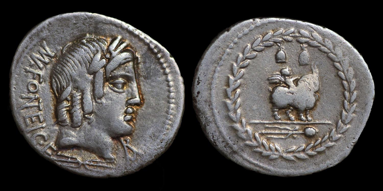 ROMAN REPUBLICAN COINAGE, MN FONTEIUS C.F., DENARIUS