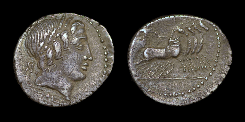 ROMAN REPUBLICAN COINAGE, ANONYMOUS ISSUE, DENARIUS
