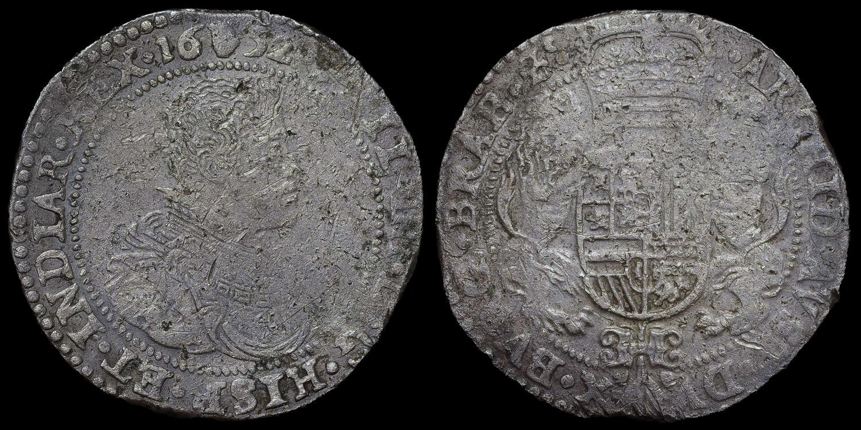 HOLLANDIA WRECK, 1652, PHILIP IV, ANTWERP 1 DUCATON