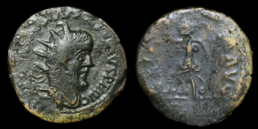 POSTUMUS DOUBLE SESTERTIUS