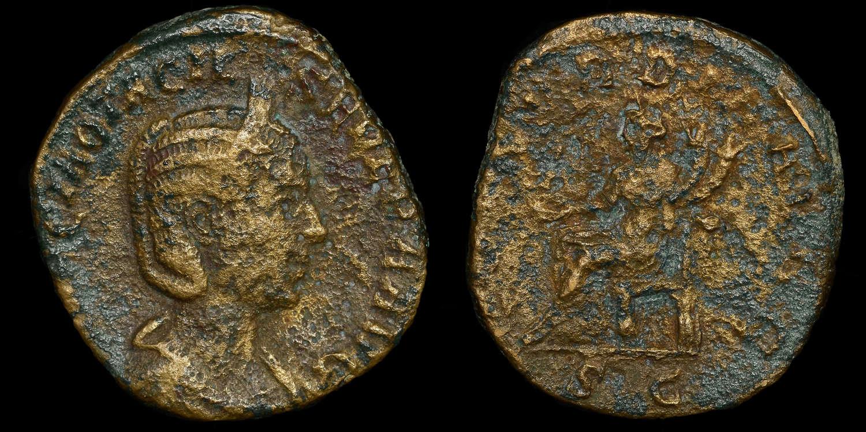 OCTACILIA SEVERA SESTERTIUS