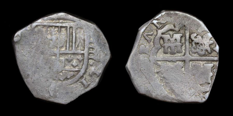 SPAIN, PHILIP IV 4 REALES
