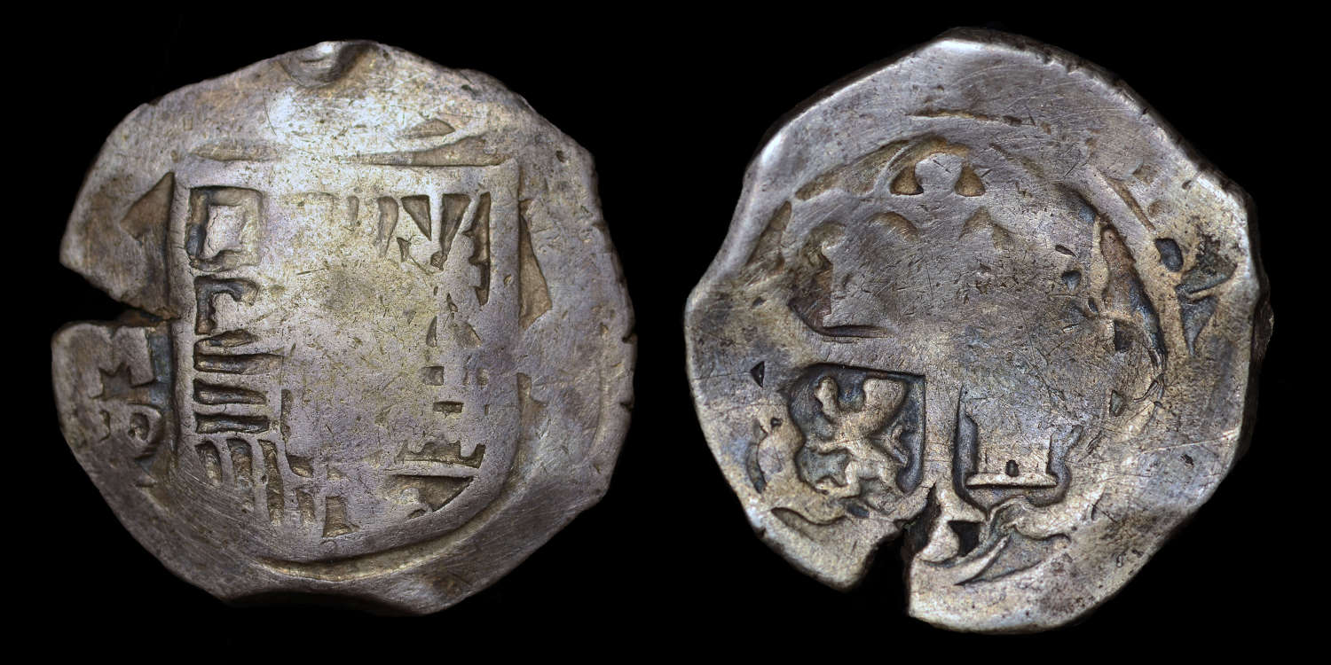 SPAIN, PHILIP IV 4 REALES MEXICO MINT