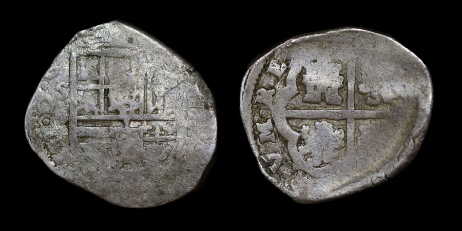 SPAIN, PHILIP III 4 REALES