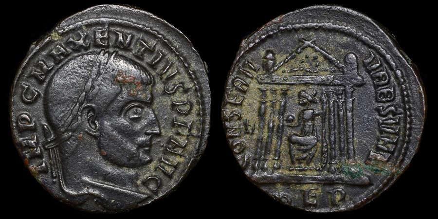 MAXENTIUS FOLLIS
