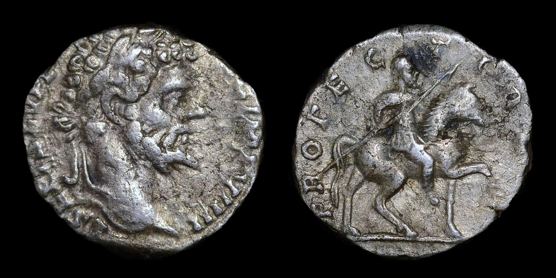 SEPTIMIUS SEVERUS SILVER DENARIUS